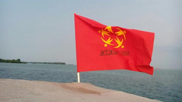 Geger Bendera 'JKT.Desa China' Kepala Desanya Ahok