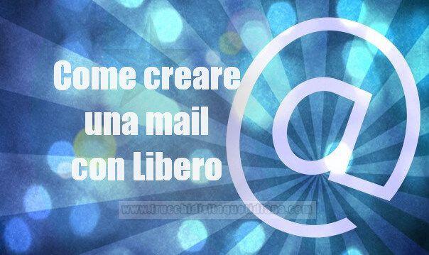 creare email libero