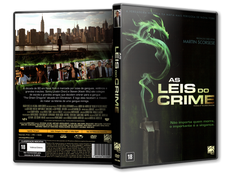 Capa DVD As Leis do Crime