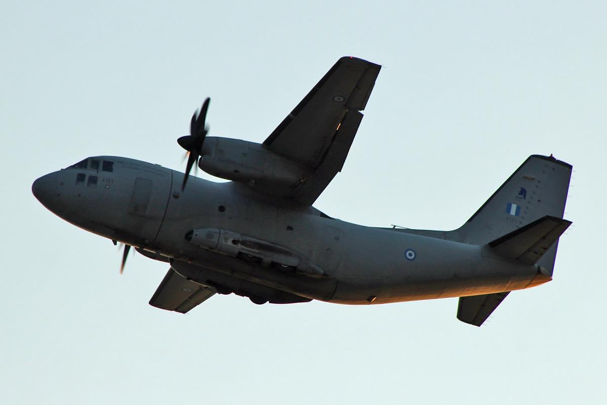"Risultati immagini per Hellenic Air Force Alenia C-27J ""Spartan"" ( 4121 )"