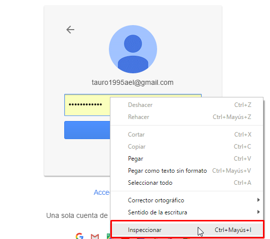 inspeccionar en google chrome