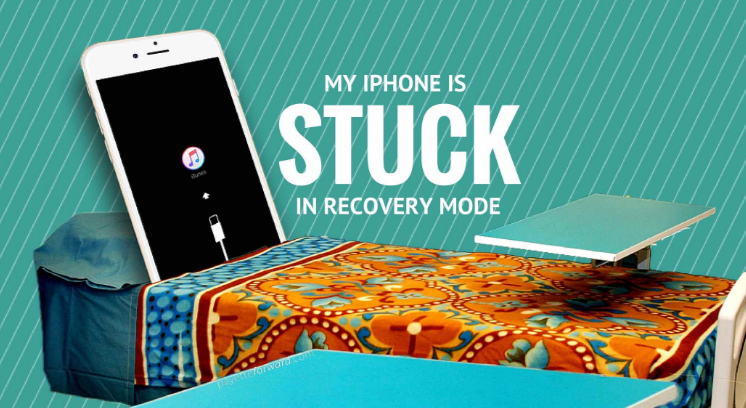 how to fix iphone stuck in recovery mode after update