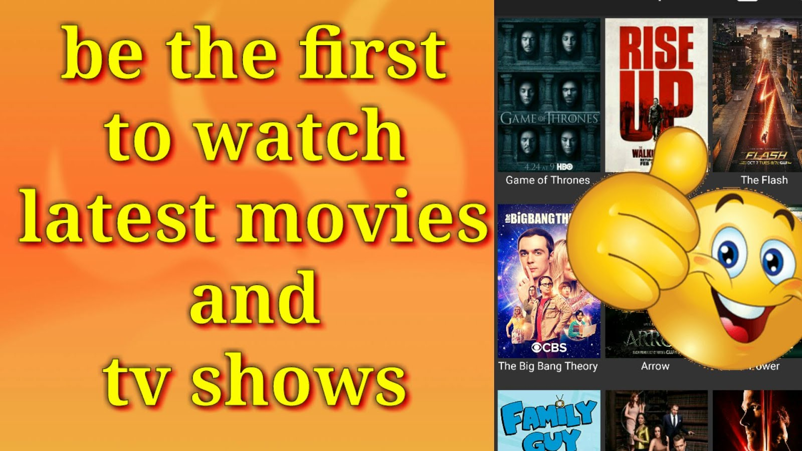 the best Android app to watch latest movies and TV shows on