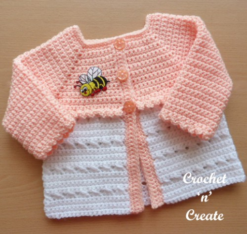 CrissCross Matinee Coat - Free Crochet Pattern