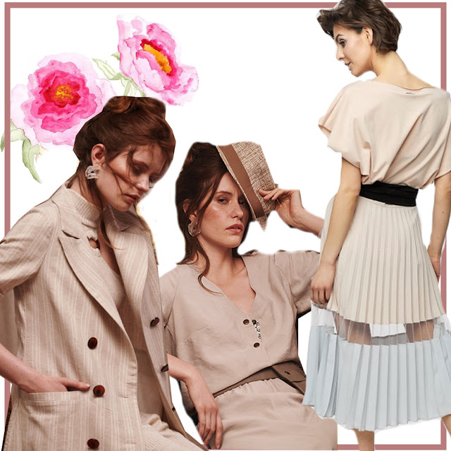 Jackets and skirts from Blue Shadow