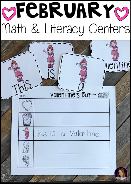 Valentine's Day, dental health and Groundhog's Day. This unit is full of fun hands-on math and literacy centers that are perfect for your kindergartners to help build a strong foundation in math, number sense and literacy skills.