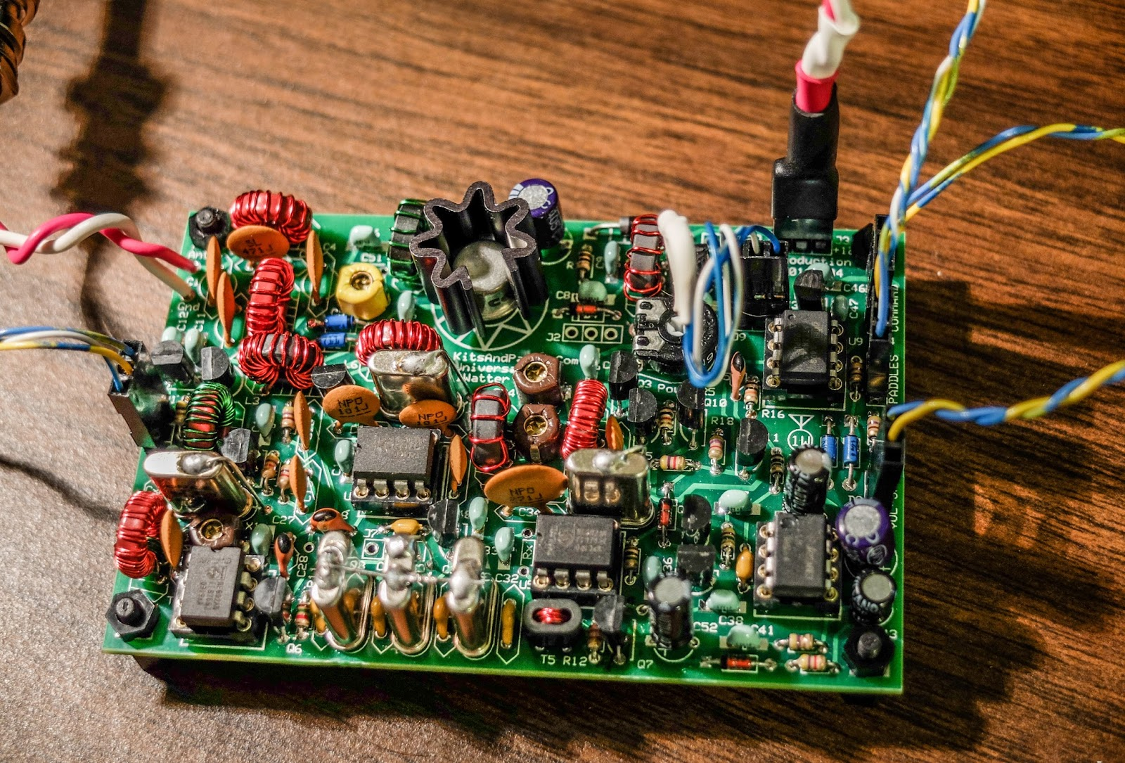 Ham Radio Qrp March 2016 Parallel Lc Circuit Http Electronicsclubforengineersblogspotcom Ready To Transmit