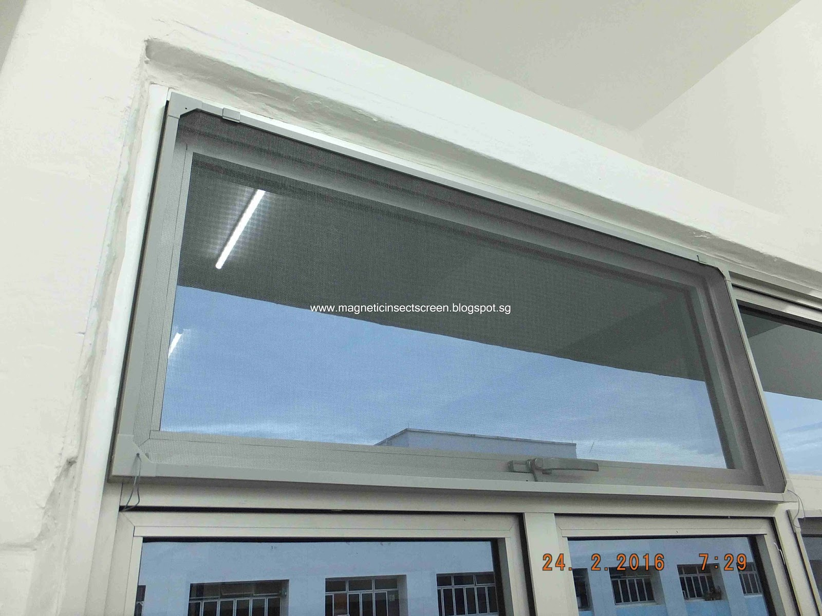 Diy magnetic insect screen singapore windows with protruding handle - The house with protruding windows ...