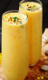 Mango Lassi Recipe - foodocon.com