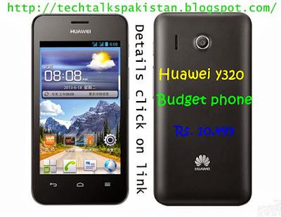 Tech Talks Pakistan: Huawei Ascend Y320 Price in Pakistan ...