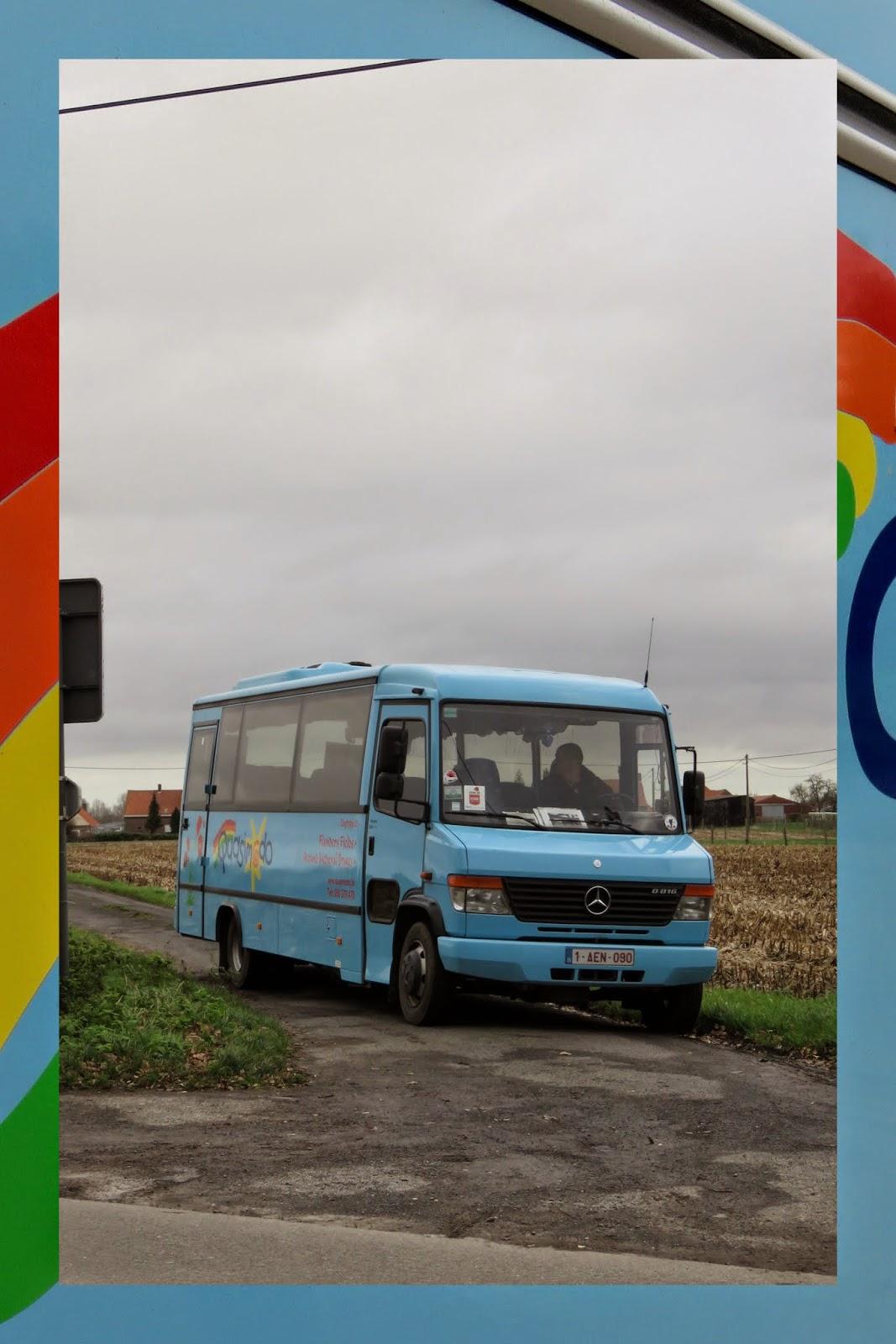 Quasimodo tour bus in Flanders