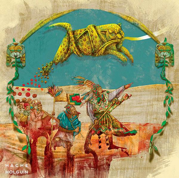 """Ilustración. Mito """"El origen del nombre Chazuta"""""""