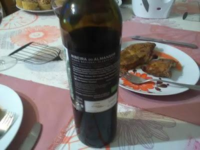 Ribeira do Almansor, 14.5% , Aragonez, Trempadeira, Cabernet Sauvignon, trasera