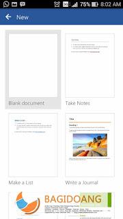 Aplikasi Microsoft Word Gratis