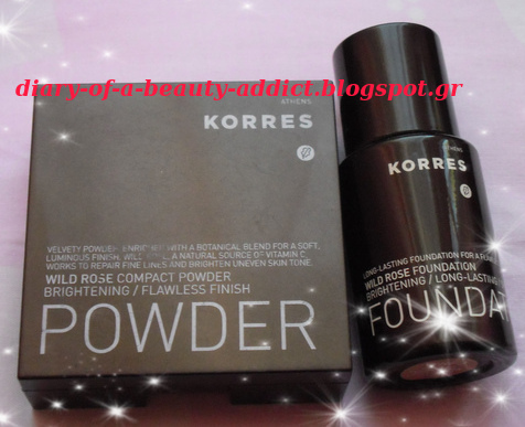 Korres Wild Rose Foundation & Compact Powder (WRP3) : Review
