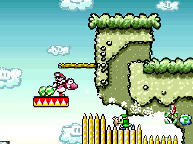 Super Mario World 2 Yoshis Island Rom Espanol Super Nintendo
