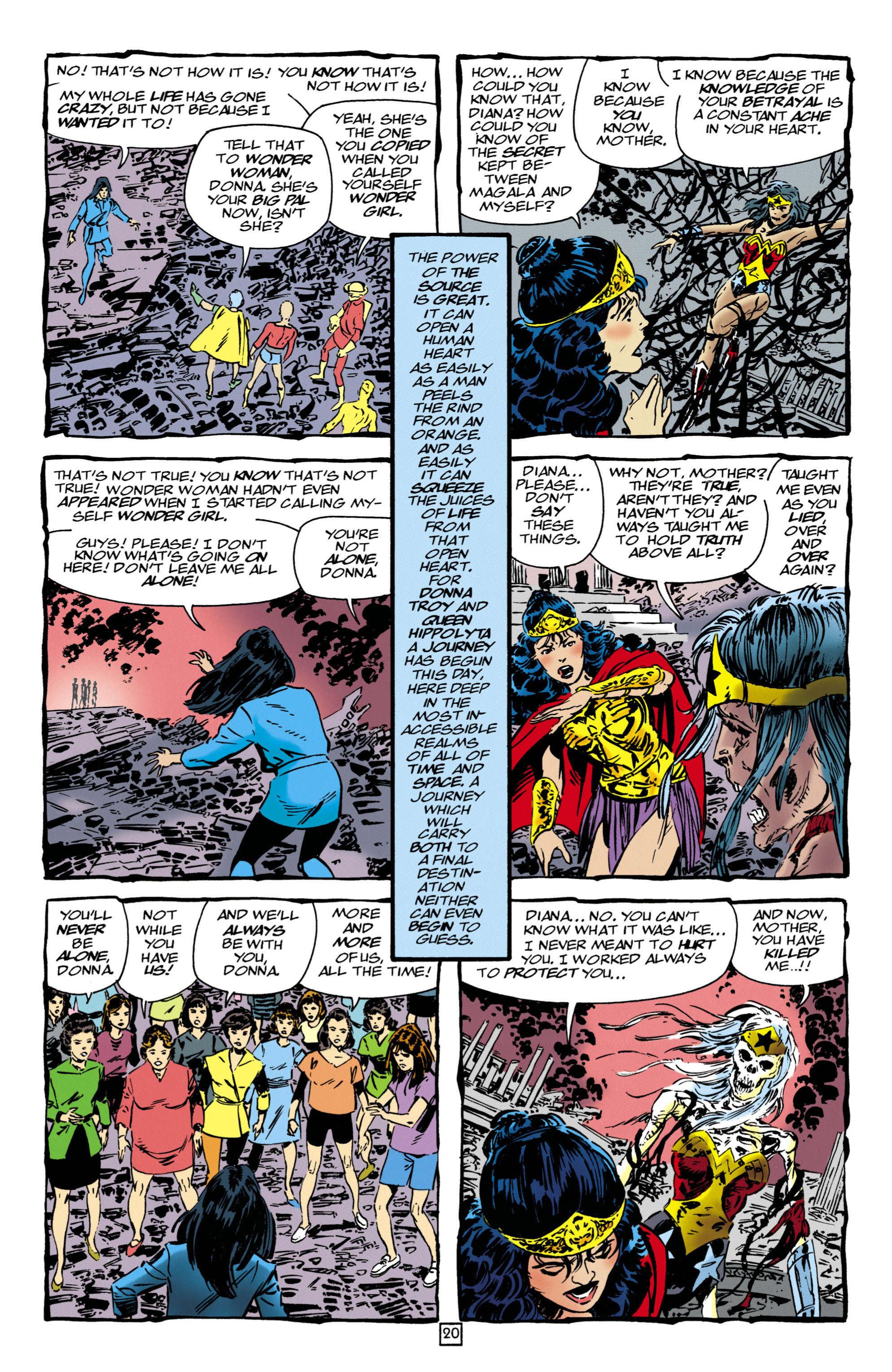 Read online Wonder Woman (1987) comic -  Issue #126 - 20