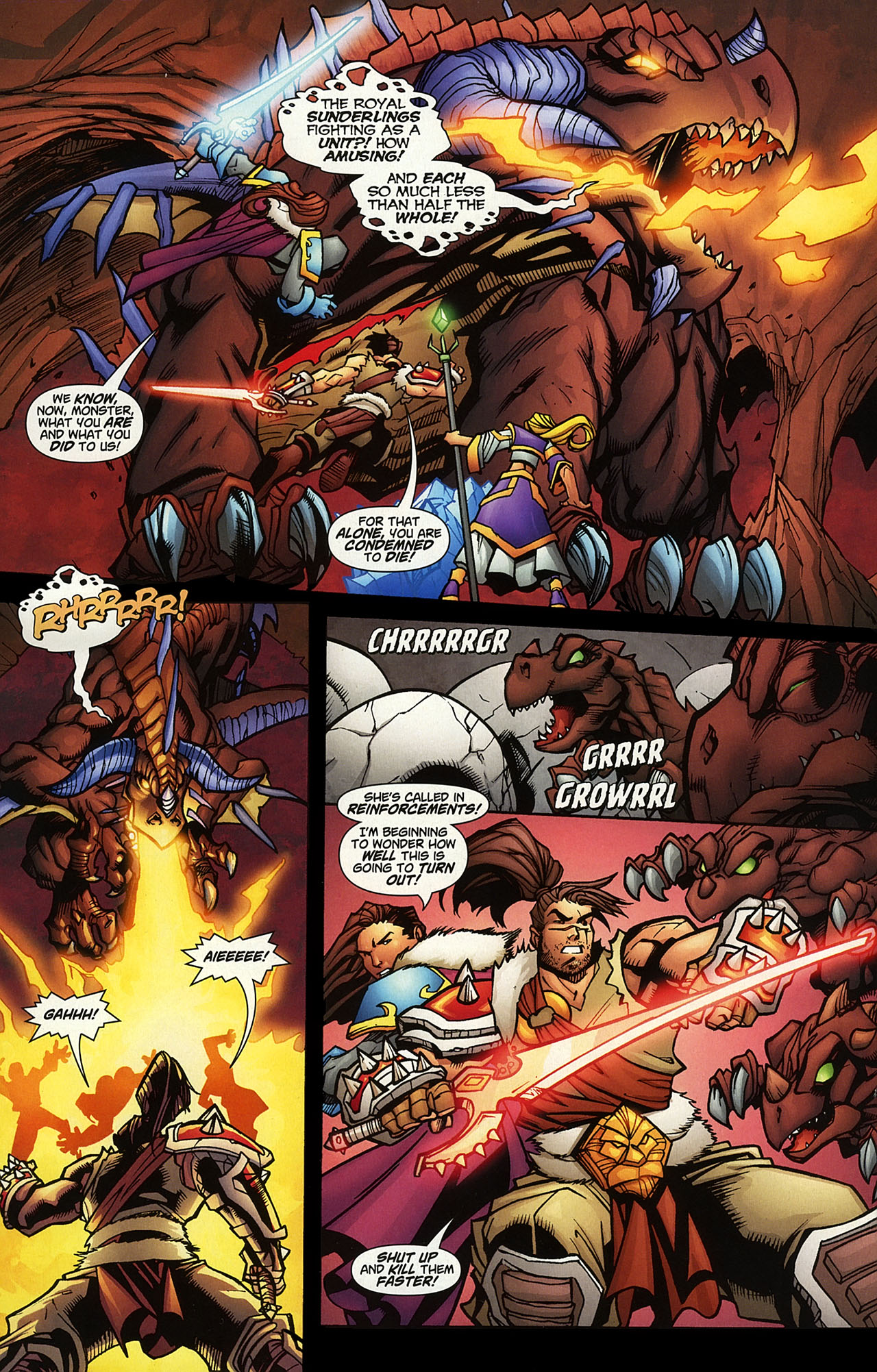 Read online World of Warcraft comic -  Issue #14 - 14