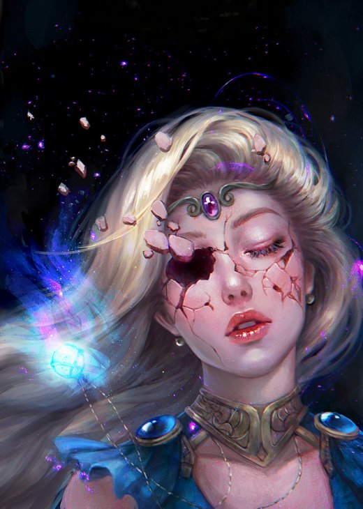 Abigail Diaz artstation deviantart arte ilustrações mulheres fantasia beleza games