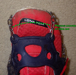 Issue with toe-bar of Hillsound Trail Crampon Ultra