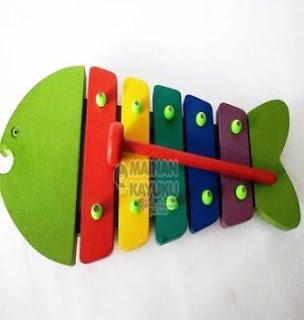 Kulintang Ikan Mainan Anak