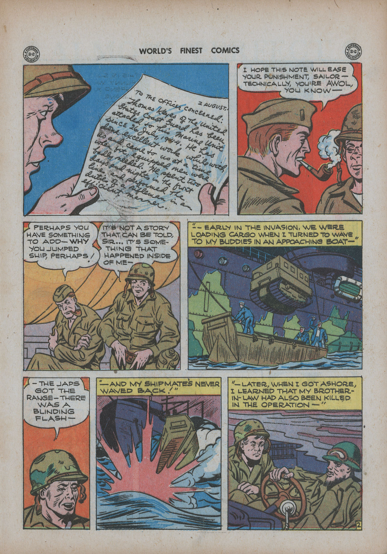 Read online World's Finest Comics comic -  Issue #20 - 49