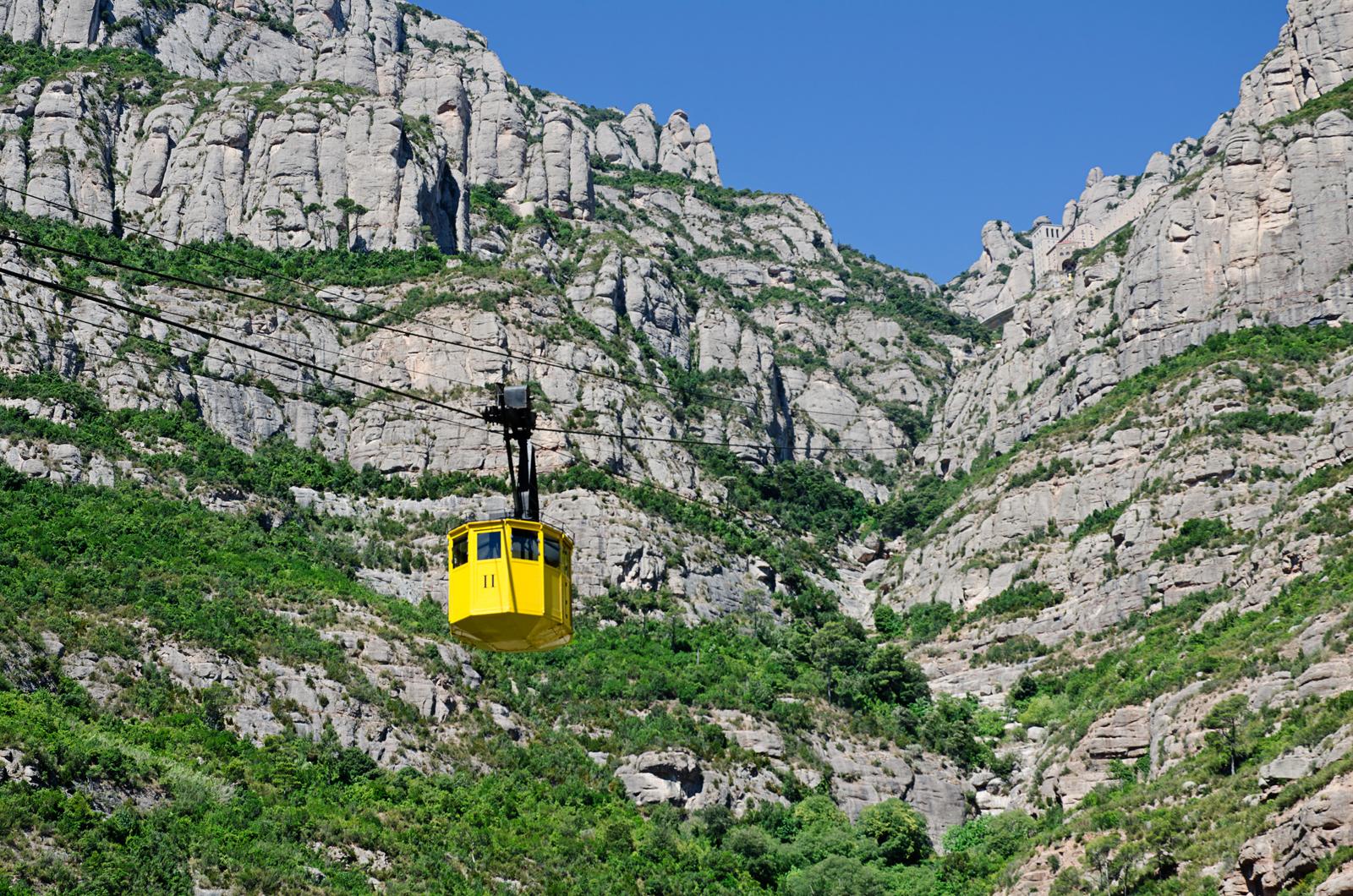 Montserrat Aerial Cable Car