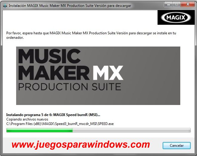 Music Maker MX Production Suite screenshot