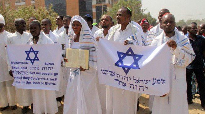 Igbo Jews show support for Nnamdi Kanu at Abuja High Court