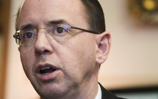 Rod Rosenstein, deputy attorney general, says Robert Mueller is 'not an unguided missile'