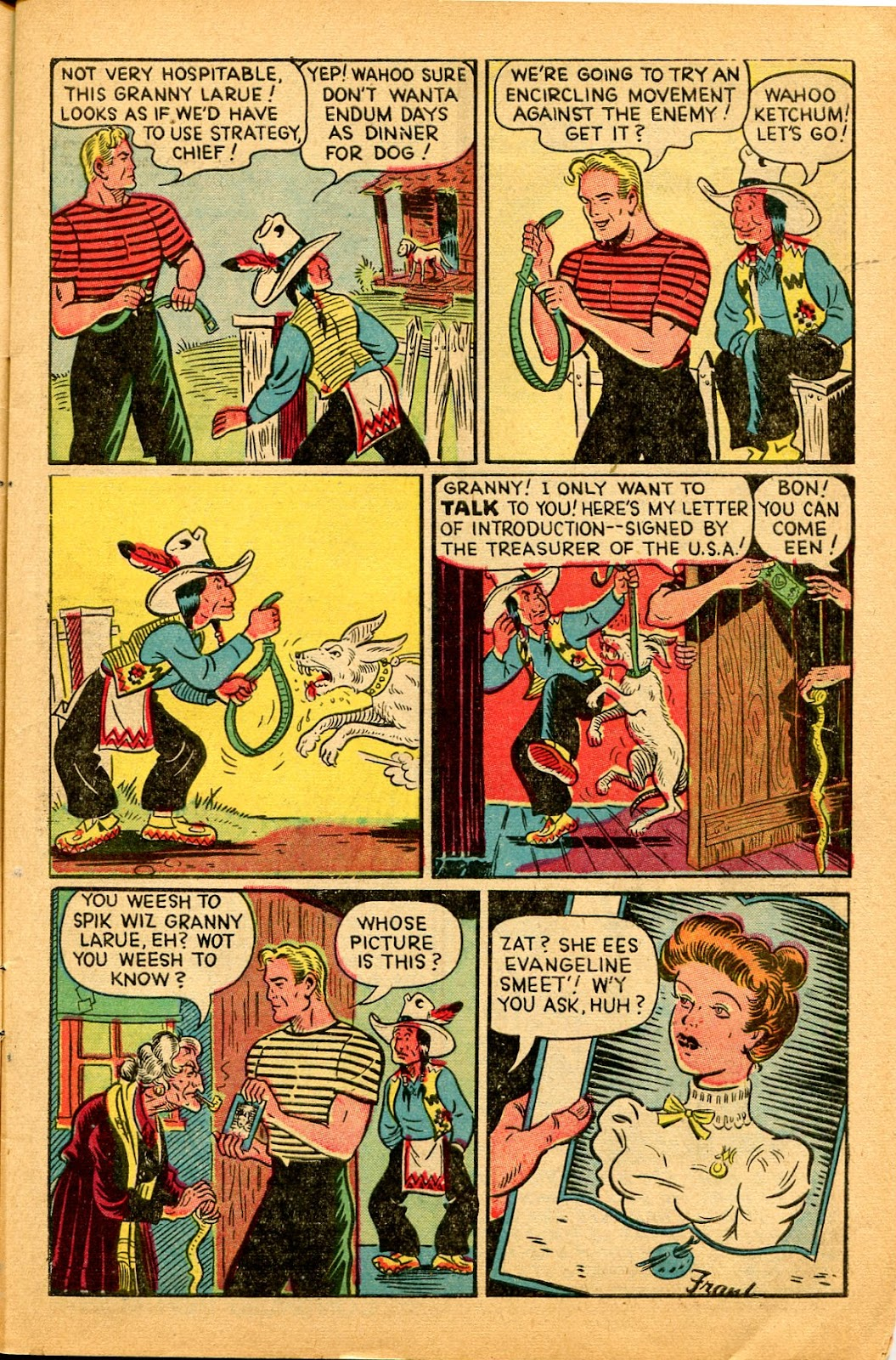 Read online Famous Funnies comic -  Issue #159 - 9