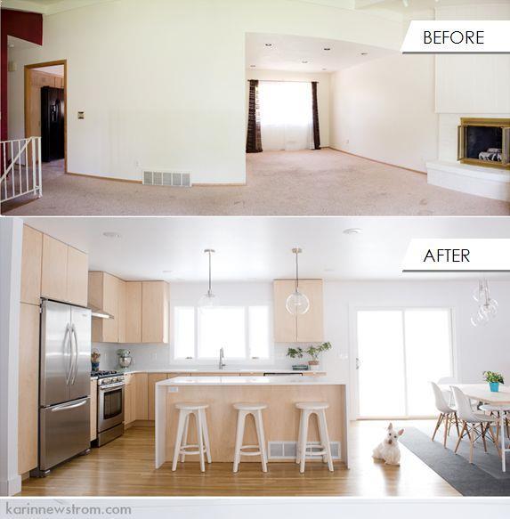 Tri Level Kitchen Remodel