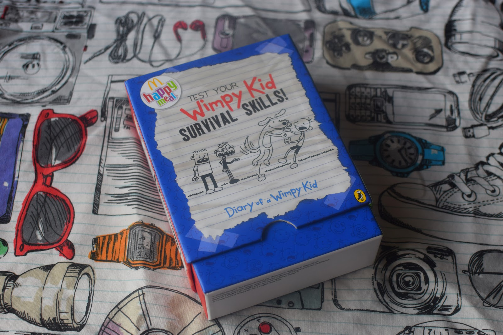 , How to Survive a Broken Arm with Diary of a Wimpy Kids and McDonalds Happy Readers