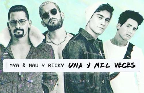MYA & Mau Y Ricky - Una Y Mil Veces