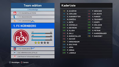 PES 2018 Bundesliga Patch Team by BuliCrewPatch Season 2017/2018