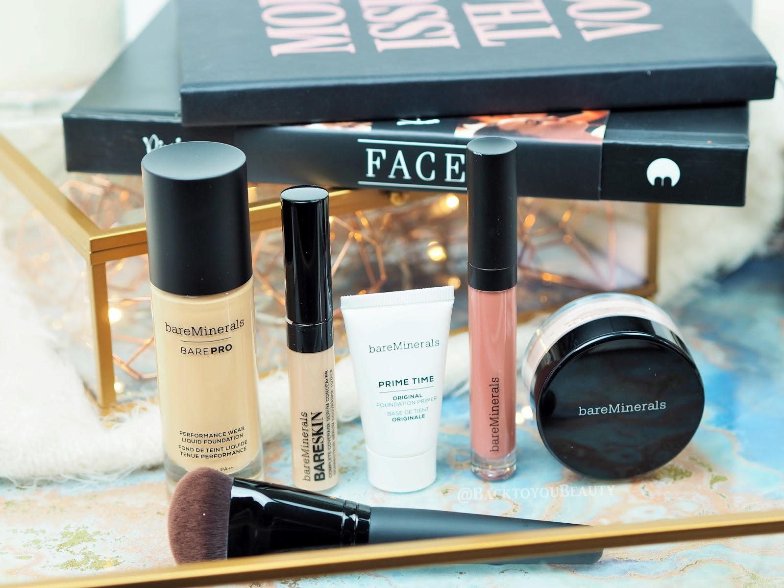 BareMinerals Master Finish Six Piece Collection Qvc Tsv
