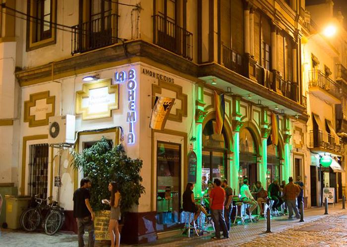 Севилья гей бар