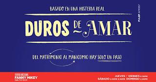 Poster 1 DUROS DE AMAR