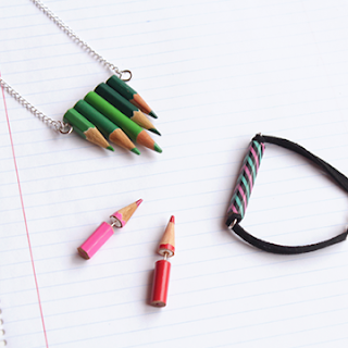 UPCYCLE PENCILS INTRO JEWELRY