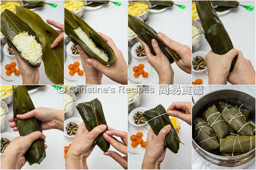 How To Wrap Sticky Rice Dumplings02