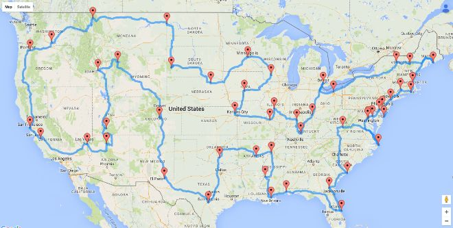 Scientists Have Identified The Ultimate United States Road Trip...