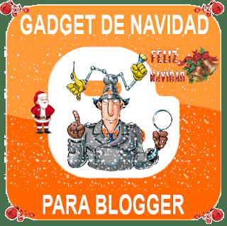 gadget navidad para blogger