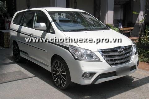 Dịch vụ cho thuê xe innova 7 chỗ giá rẻ chất lượng tại Hà Nội