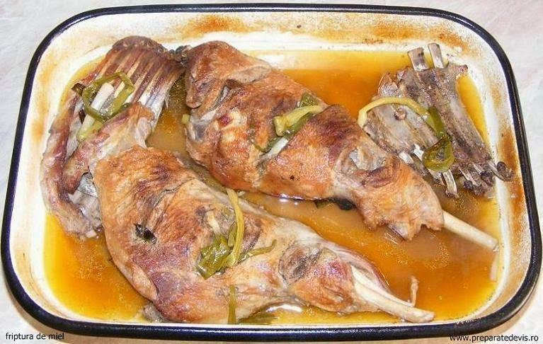 Friptura din carne de miel reteta,