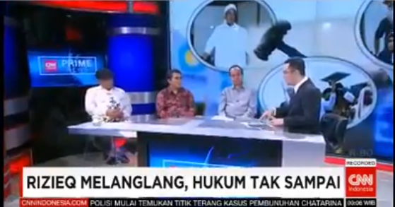 JLEB!! [Video] Eggy Sujana Kembali Permalukan Pembenci Habib Rizieq di Acara CNN
