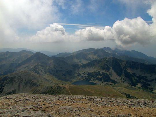 Panorama południowo-zachodnia.