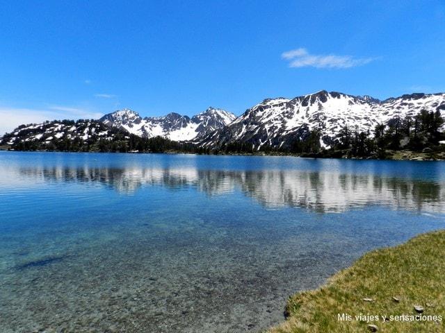 Lago de Aumar, Reserva Natural de Neouvielle, Pirineo Francés