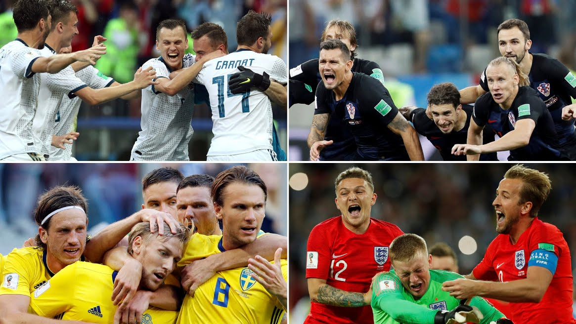 Mondiali Calcio 2018 Streaming: Inghilterra-Svezia e Russia-Croazia, Diretta TV su Canale 5 Mediaset Play oggi 7 luglio