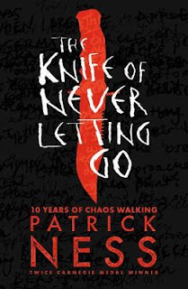'The Knife of Never Letting Go' cover design.