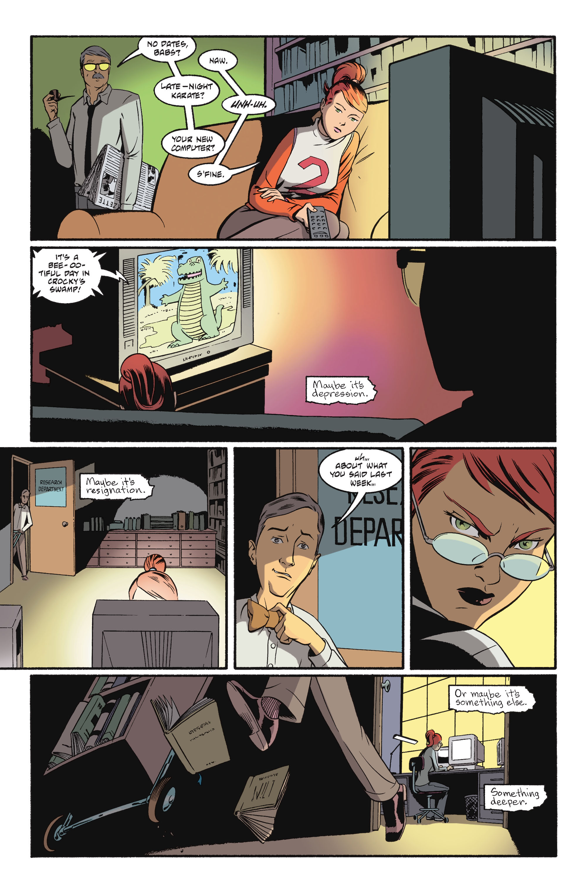Read online Batgirl/Robin: Year One comic -  Issue # TPB 2 - 21